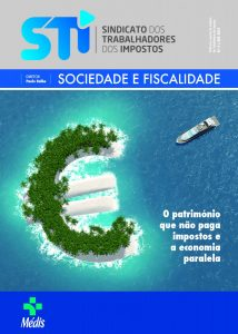 "CAPA - REVISTA DO STI - ""SOCIEDADE E FISCALIDADE N.º 6"""